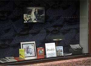 Ivar Lo-museets skyltfönster
