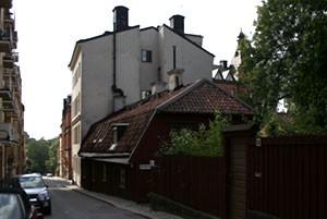 Bastugatan mot Skinnarviksberget.