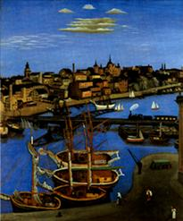 Stockholm, Sommarnatt (1924)