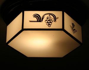 Lampa i trapphuset